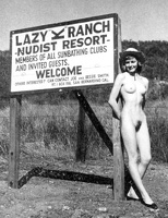 Classic nudist camp magazines