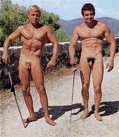 Vintage nudist boys naturist