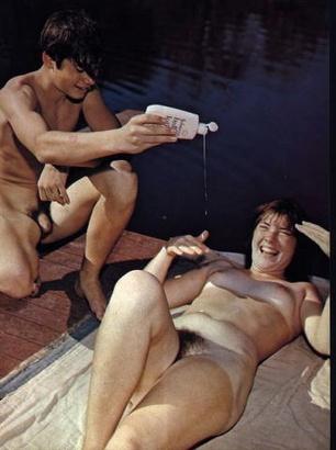 noir photos nudistes