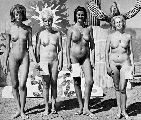 Vintage miss nude contest 1975 4