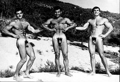 photos physique Vintage male