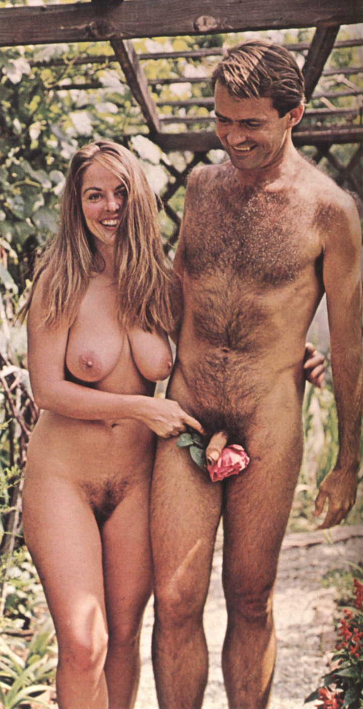nudist erection